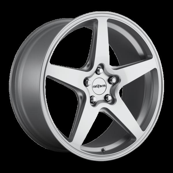 Rotiform WGR 8.5x20 Lk 5/112 ET45 Ml 66.6 Silber