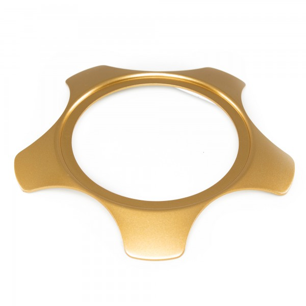 Rotiform LSR plate Front - gold